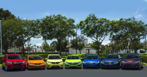 Honda celebrates diversity in color as well as lifestyle.