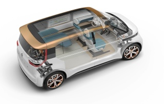 VW BUDD-e Concept Electric Vehicle
