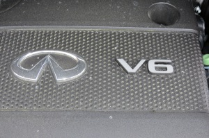 Infinity offers the V6 Gas Powered Engine