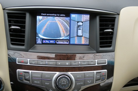 Around View® monitor gives a new meaning to backup camera.