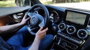 Mercedes Benz C Coupe Dash