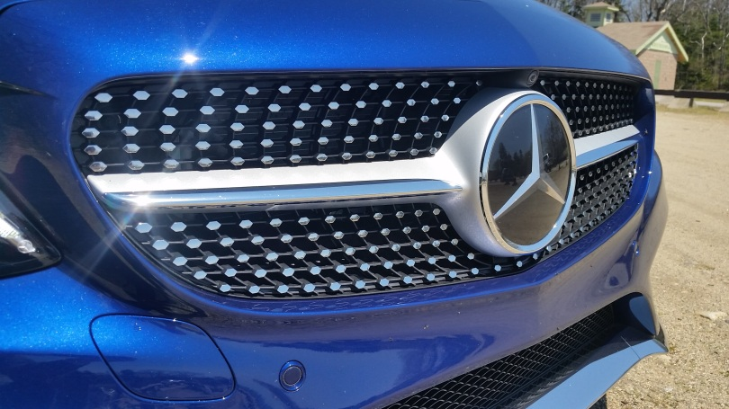 The diamond grill has become a Mercedes-Benz favorite.