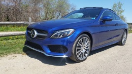 Mercedes Benz C Coupe Left