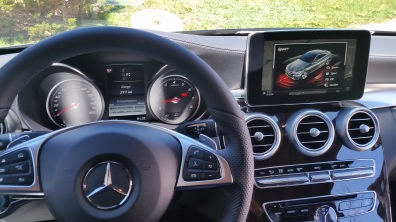 Mercedes Benz C Coupe Sport Plus