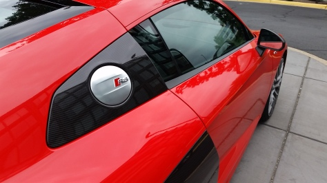 The lines of the Audi R8 make anyone's heart beat faster.