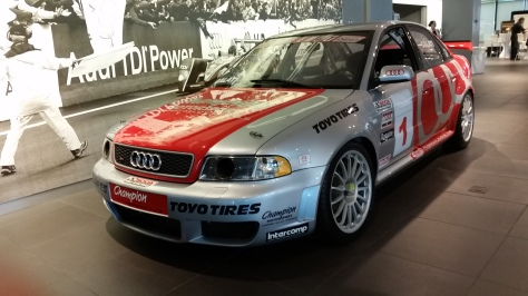 Audi has a long history of competitive racing and winning with their vehicles.