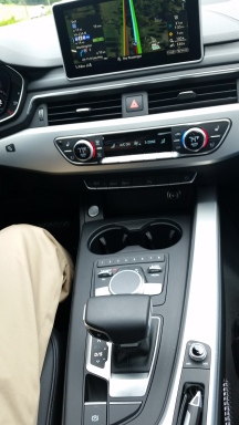 Audi A4 interior materials were not as premium as we have seen in competing European Sports Sedans.