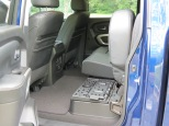 Nissan Titan XD Rear Seat Up