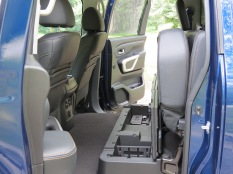 Nissan Titan XD Rear Storage Compartments