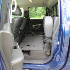 Nissan Titan XD Rear Storage