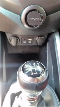 Veloster Turbo has a Six Speed with a B&M Racng Sport Shifter.