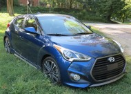The 2016 Hyundai Veloster R-Spec in Pacific Blue. A lot of fun for very little dough!