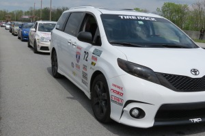 One Lap America 2016 Toyota Sienna SE+ at Summit Point Raceway