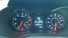 Hyundai Veloster RSpec dashboard.