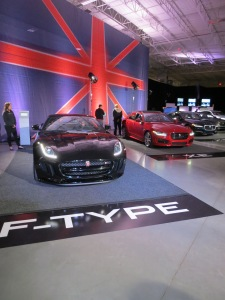 Jaguar's Sports Car the F-Type and X-E Sedan.