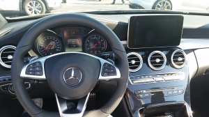 Mercedes-Benz C43 Dash