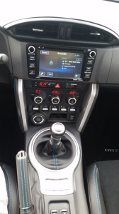 Subaru BRZ touch screen info center is not as intuitive as it could be.