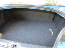 Subaru BRZ trunk space can be enlarged by putting the rear seat down.