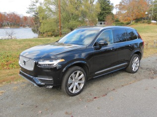 The Volvo XC90 T6 AWD Inscription a full-size SUV with a lot of Safety and Luxury
