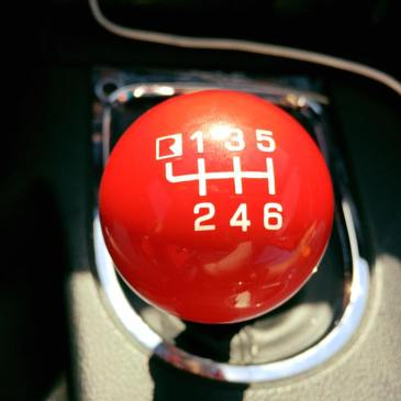 Red 6-Speed Shifter