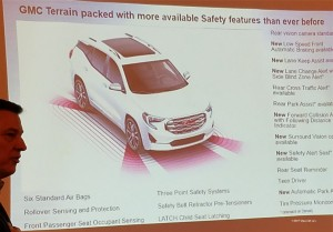 GMC Terrain offers many standard safety features including many new to the model for the 2018 model year.