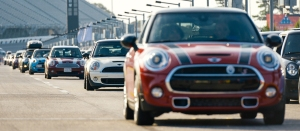 Mini owners gather often for driving events