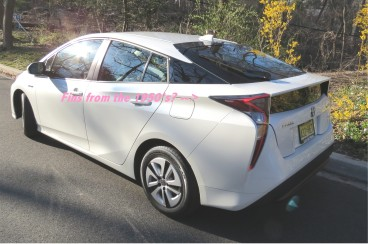 Toyota's 3rd generation Prius is so futuristic it has fins from the 1950's when auto design was all about the future.
