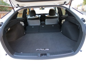 Plenty of cargo as well as passenger room in the third generation of the Toyota Prius.
