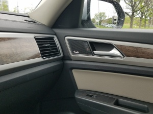 VW Atlas features Fender Audio as well as clean simple interior design.