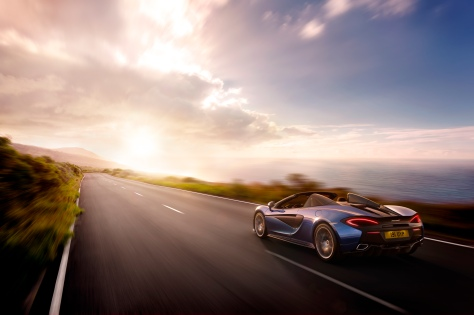 Take to the open road with the McLaren 570S Spider, orders being taken Summer 2017.