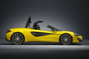McLaren's entry Level Supercar the 570S Spider A Cabriolet
