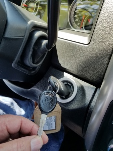 The RAM's key is what you have known and used since Pickup Trucks came on the scene.