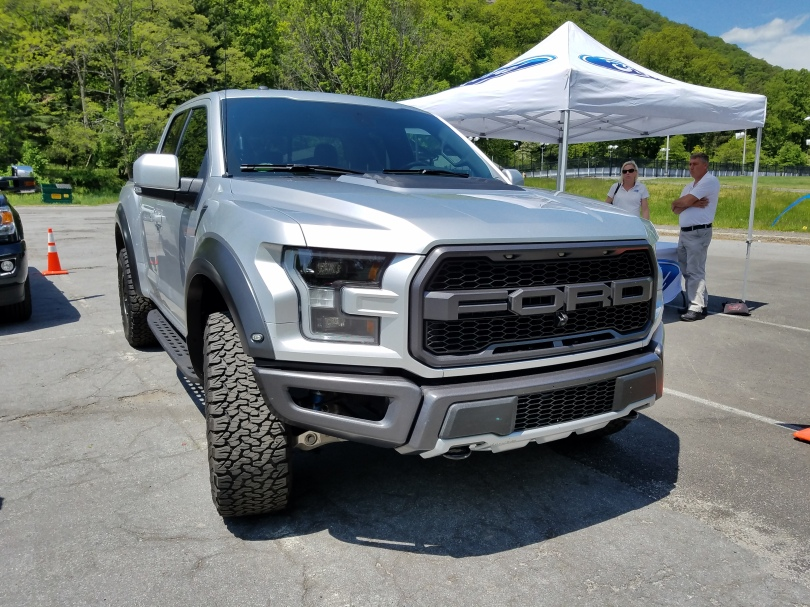 Ford F150 Raptor, lots of bulges in all the right places