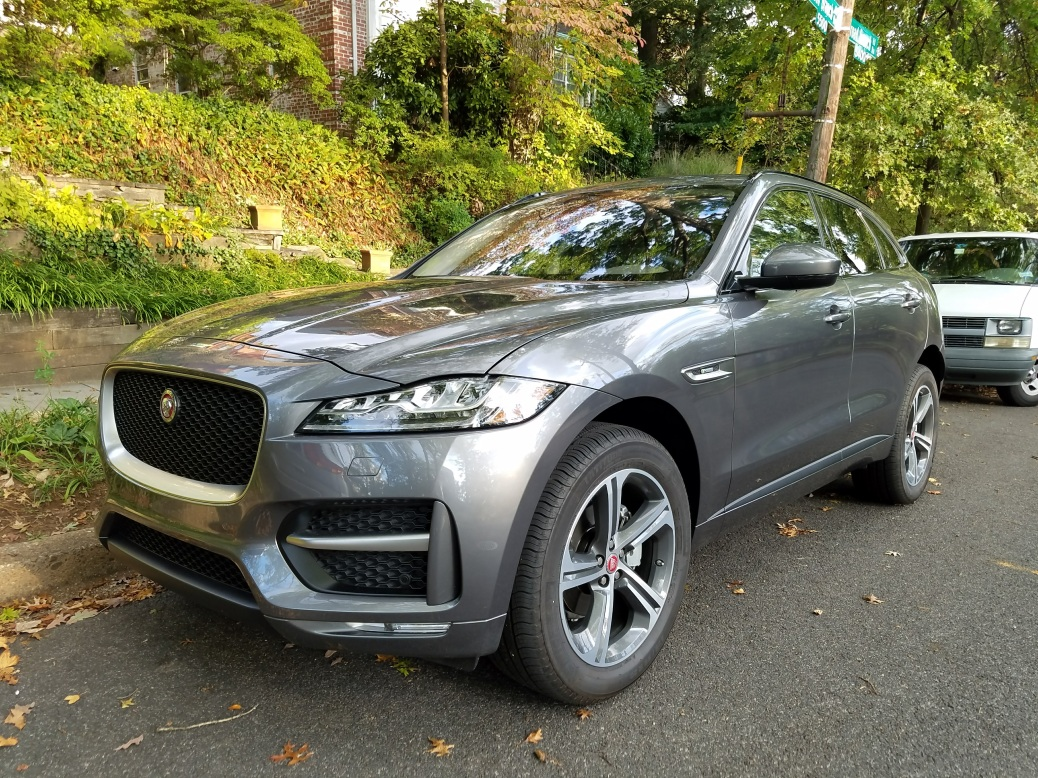 Diesel powered Jaguar F-Pace