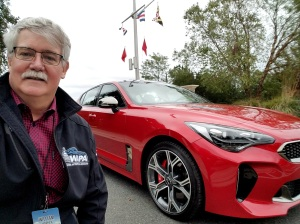 William West Hopper and the Kia Stinger
