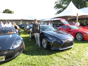 Chef Matt and the Lexus LC500H