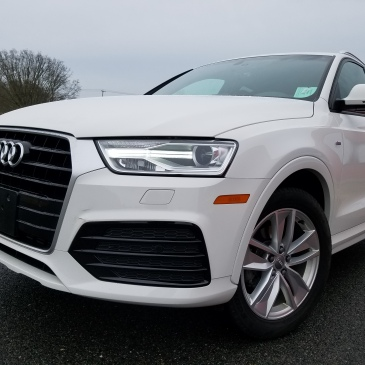 The Audi Q3 the smallest of their SUV's