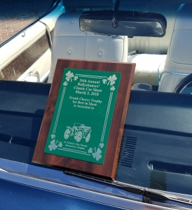 2018 Ballyshaners Car Show Winner