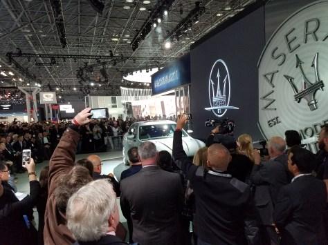 Maserati Booth at NYIAS