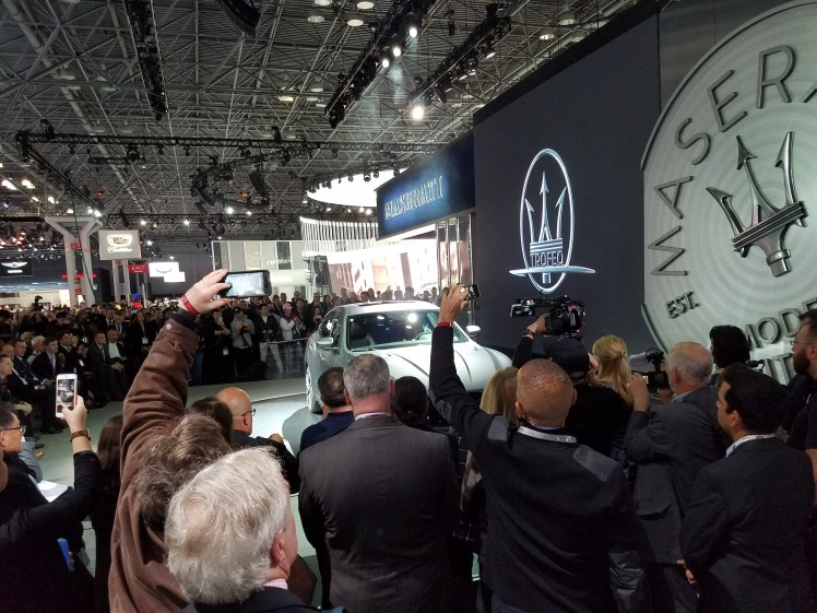Maserati Booth at NYIAS