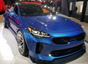 Kia Stinger with a West Coast Customs Package