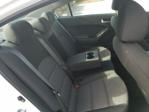 Kia Forte Rear Seat