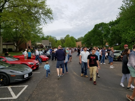 Katie's Cars and Coffee in Great Falls VA
