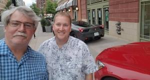 Queer4Car's William West Hopper and Matt Rihl