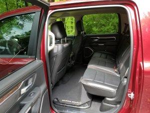 2019 RAM Rear Quad Cab Seat