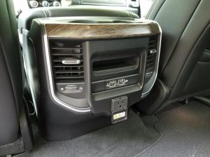 2019 Ram 1500 rear power outlets
