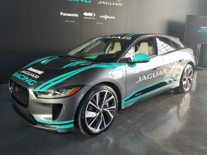 Jaguar EV Race Car