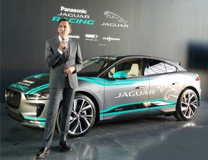 Jaguar's Race Director James S Barkley