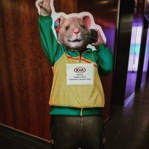 Kia Soul Hamster