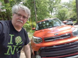 William West Hopper with the Kia Soul Turbo
